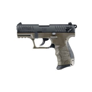 "Walther P22 22LR 3.4"" Barrel MILITARY GREEN 10+1 *CA Compliant* 5120338"