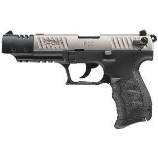 "Walther P22 22LR 5"" Barrel Nickel Target 10+1 *CA Compliant * 5120337"