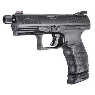 "Walther PPQ Q4 Tac 9MM 4.6"" Barrel 17+1/15+1 Optic Ready 2825929"