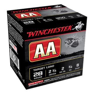 "Winchester 28 Gauge 8 Shot 2.75"" 25Rd Box AA288"