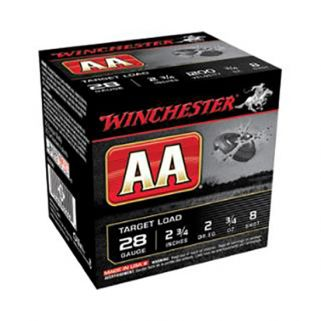 "Winchester 28 Gauge 9 Shot 2.75"" 25Rd Box AA289"
