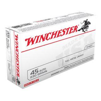 Winchester USA 45ACP 230 Grain FMJ 50 Round Box Q4170