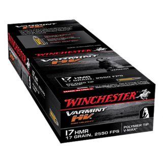 Winchester Varmint 17HMR 17 Grain 50Rd Box S17HMR1