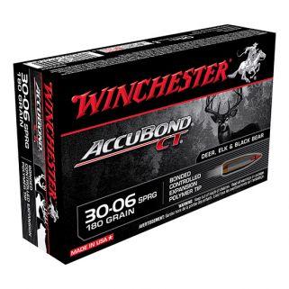 Winchester Accubond CT 30-06 Springfield 180 Grain 20 Round Box S3006CT