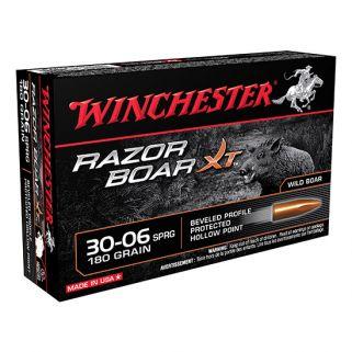 Winchester Razor Back XT 30-06 Springfield 180 Grain 20 Round Box S3006WB