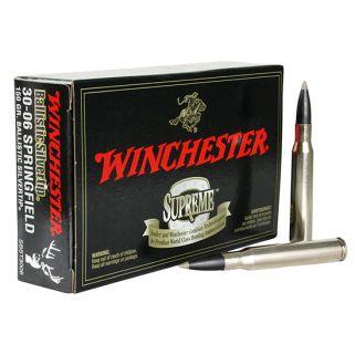 Winchester Ballistic Silvertip 30-06 Springfield 150 Grain 20 Round Box SBST3006