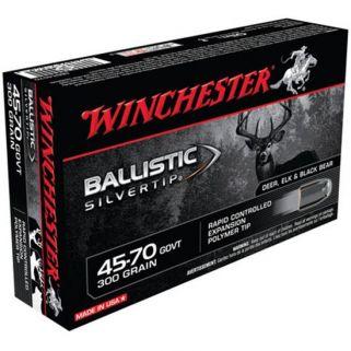 Winchester Ballistic Silvertip 45-70GOVT 300 Grain 20 Round Box SBST4570