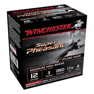 "Winchester Super-X Pheasant 12 Gauge 4 Shot 3"" 25 Round Box X123PH4"