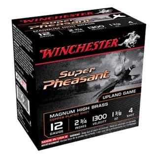 "Winchester Super-X Pheasant 12 Gauge 4 Shot 2.75"" 25 Round Box X12P4"
