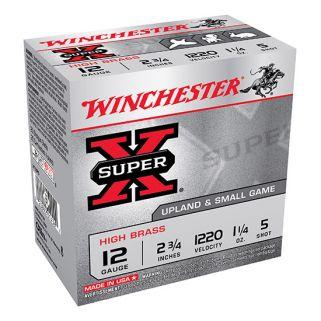"Winchester Super-X Pheasant 12 Gauge 5 Shot 2.75"" 25 Round Box X12P5"