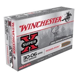Winchester Super-X 30-06 Springfield 150 Grain 20 Round Box X30061
