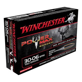 Winchester Super-X Power Max Bonded 30-06 Springfield 150 Grain 20 Round Box X30061BP