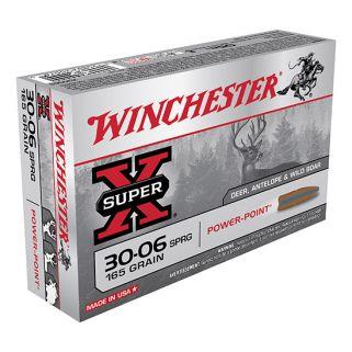 Winchester Super-X 30-06 Springfield 165 Grain 20 Round Box X30065
