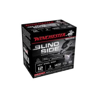 "Winchester Blindside 12 Gauge Hex Shot 3"" 25 Round Boxe SBS123BB"
