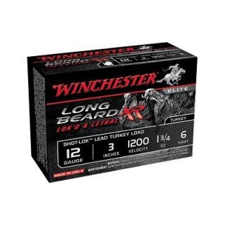 "Winchester Long Beard XR 12 Gauge 6 Shot 3"" 10 Round Box STLB1236"