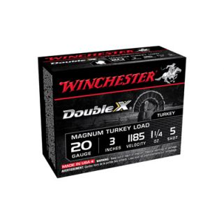 "Winchester Supreme Double-X 20 Gauge 5 Shot 3"" 10 Round Box X203XCT5"
