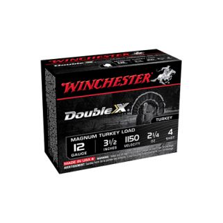 "Winchester Supreme Double X 12 Gauge 4 Shot 3.5"" 25 Round Box XXT12L4"