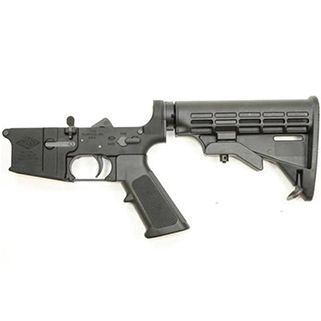 YHM LOWER RECEIVER AR15 ASSEMBLE PARTS CAR STOCK