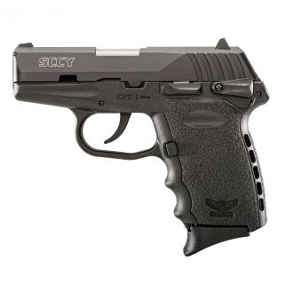 "SCCY CPX-1 Carbon Black 9mm 3.1"" Barrel CPX-1CB"