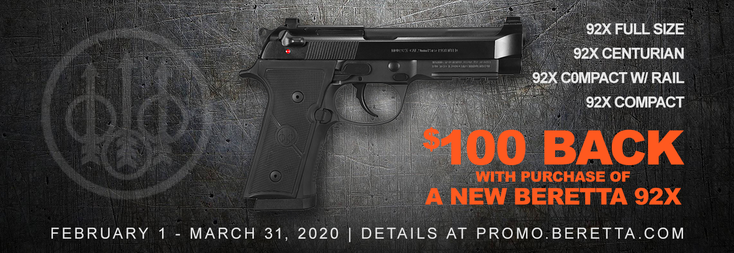 For a limited time get $100 Back with the purchase of a qualifying 92X!