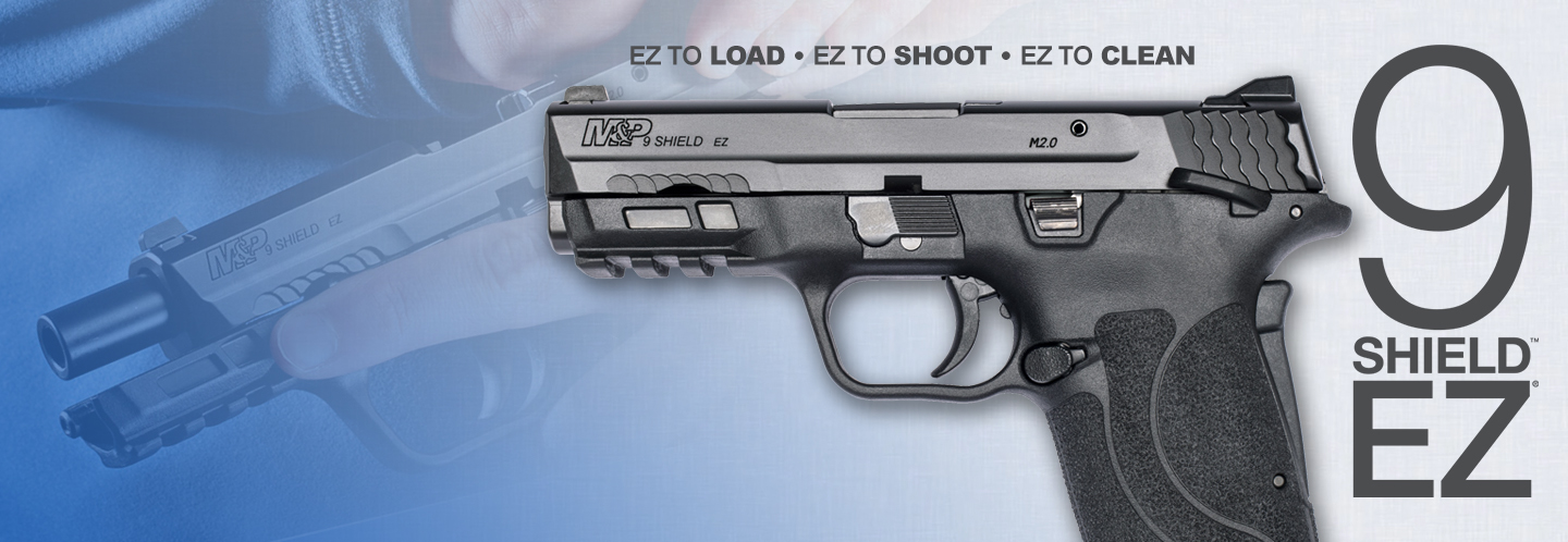 Just arrived...the new M&P Shield EZ in 9mm!