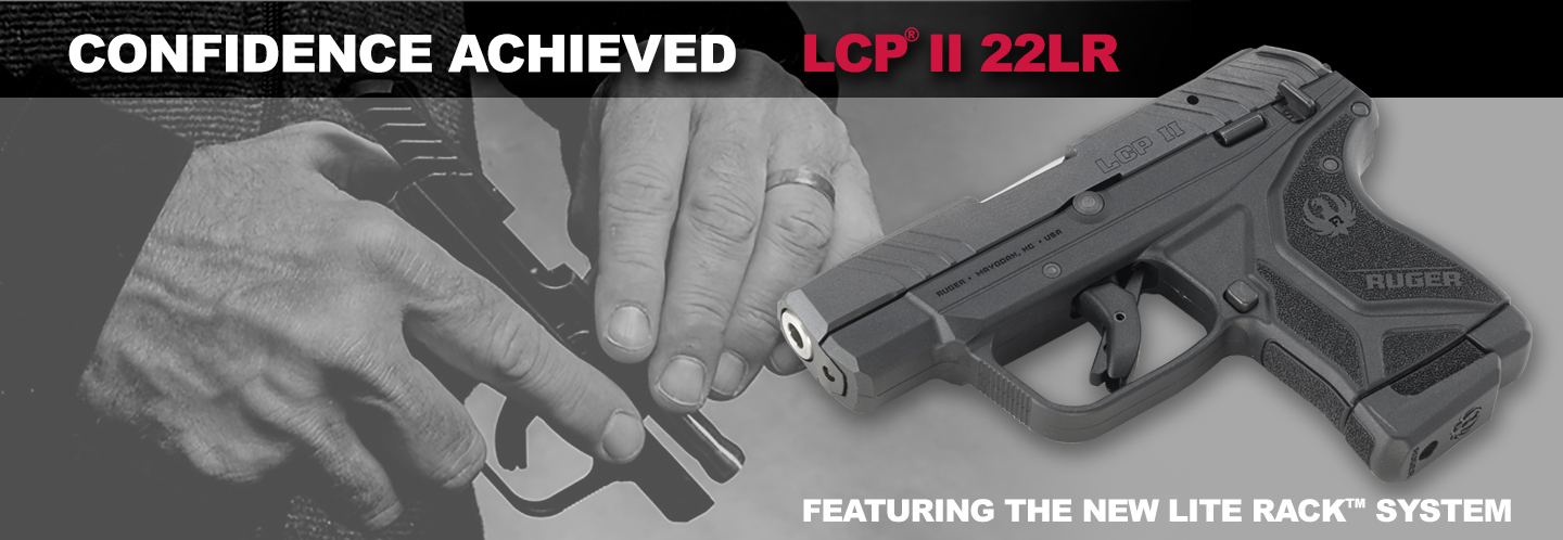 Get your new Ruger LCP II .22LR pistol now!