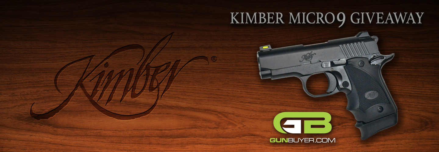 Enter now for a chance to win a Kimber Micro 9! Must be 21+ to enter. Contest ends April 30th, 2019 11:59pm ET.