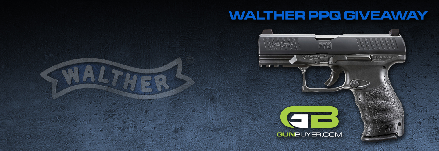 Enter now for a chance to win a NEW Walther PPQ M2 w/ night sights! Must be 21+ to enter. Contest runs through June 6th, 2019.