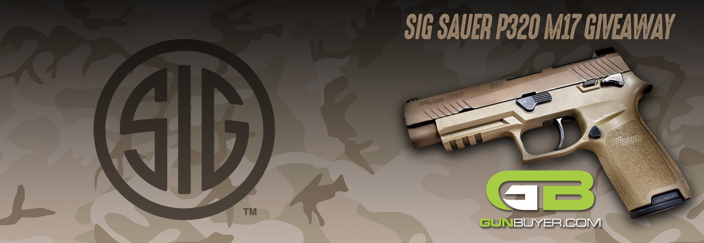 Enter now to win a Sig Sauer P320-M17! Contest ends December 31st, 2018 at 11:59pm ET.