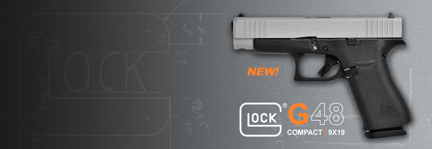 NEW Glock 48 pistols JUST ARRIVED! Get them while they last!