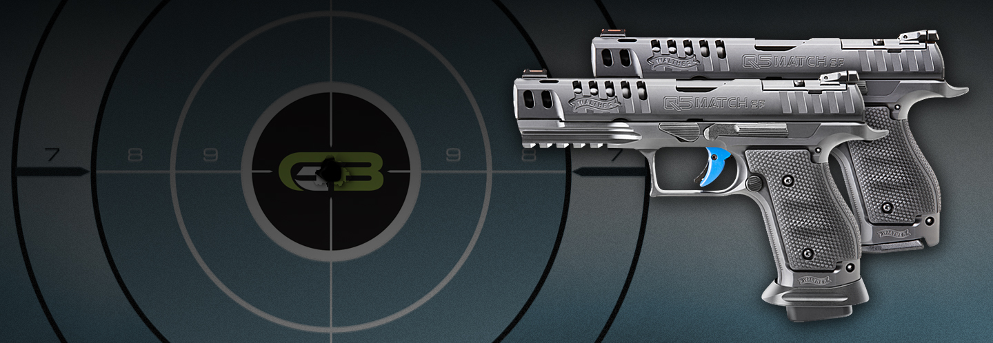 Just released! Walther Q5 Match Steel Frame in both Pro and Standard variants!