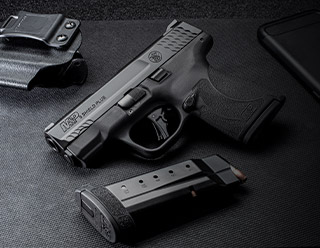 Now in stock. The new S&W M&P9 Shield Plus +