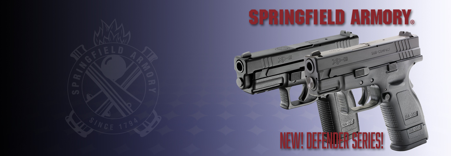 New package XD Defender series from Springfield Armory! currently offered in 3