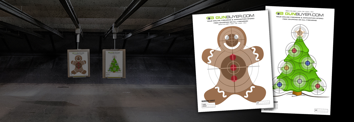 Free downloadable targets from Gunbuyer.com! Tag us and show us your grouping!